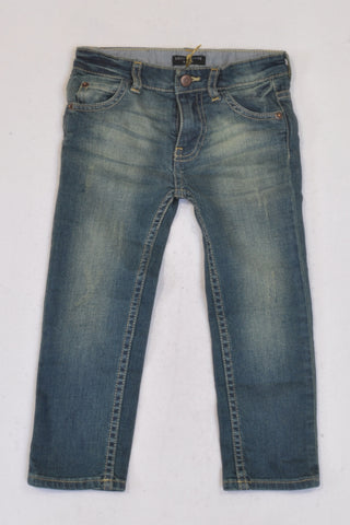 New Sticky Fudge Distressed Tailored Jeans Unisex  6-12 months
