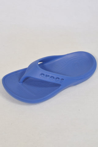 Crocs Blue Flip Flops Boys 6-7 years