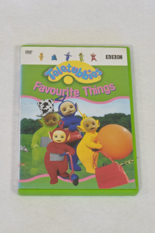 BBC Teletubbies Favourite Things DVD