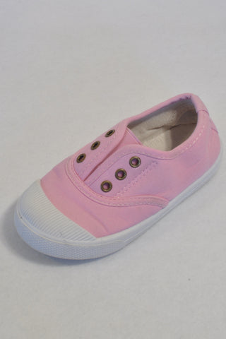 Bella Newman Soft Pink Sneaker Shoes Girls 4-5 years