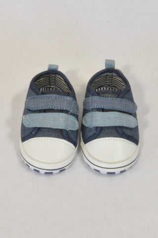 New Ackermans Double Velcro Size 3 Shoes Boys 9-12 months