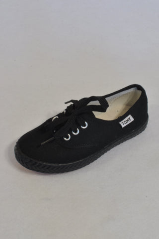 New Supertomy Black Original Size 9 Shoes Unisex 3-4 years