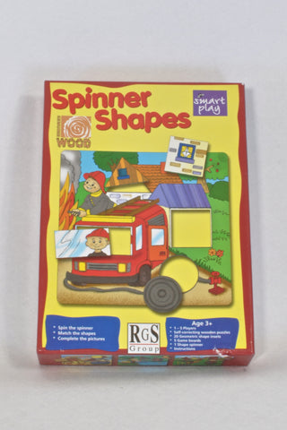 Smart Play Spinner Shapes Puzzle Unisex 2-4 years