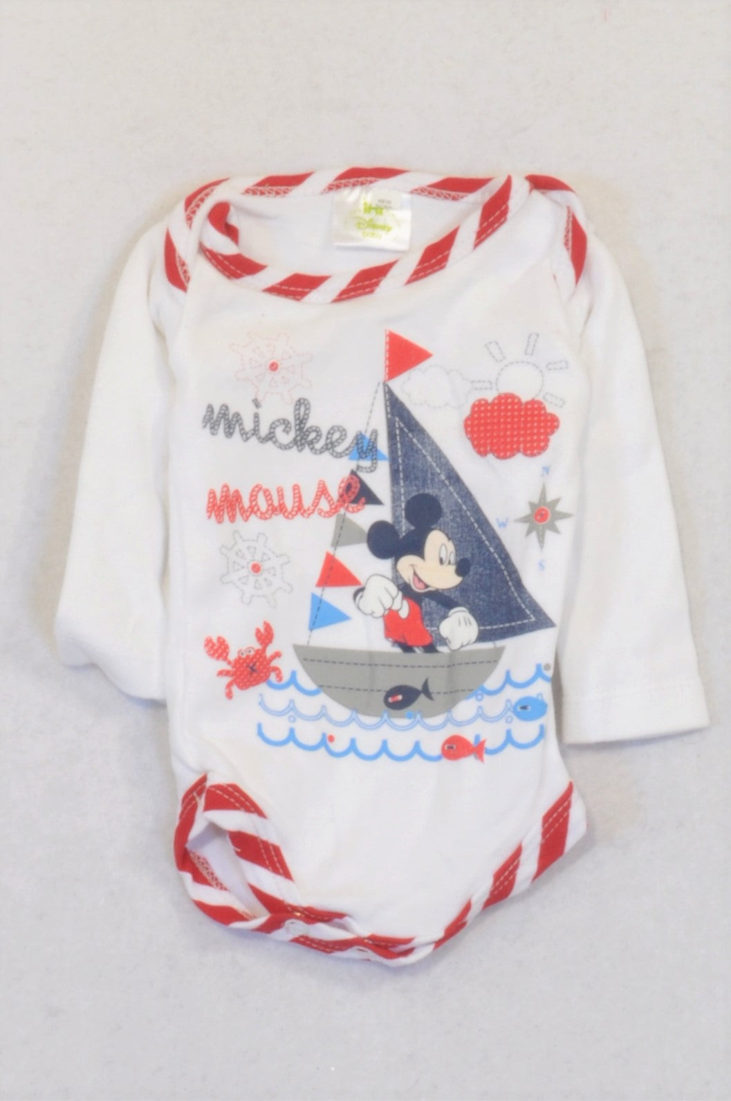 Disney Mickey Mouse Baby Boys Outfit Sailing The Sea