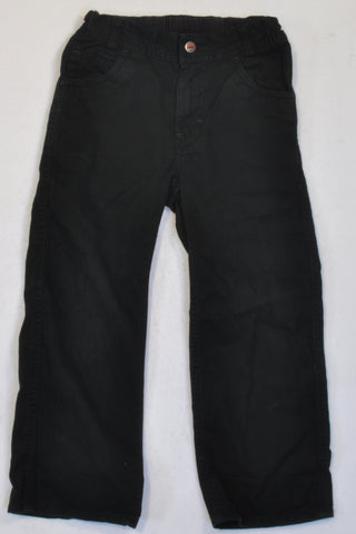 H&M Black Denim Jeans Boys 3-4 years