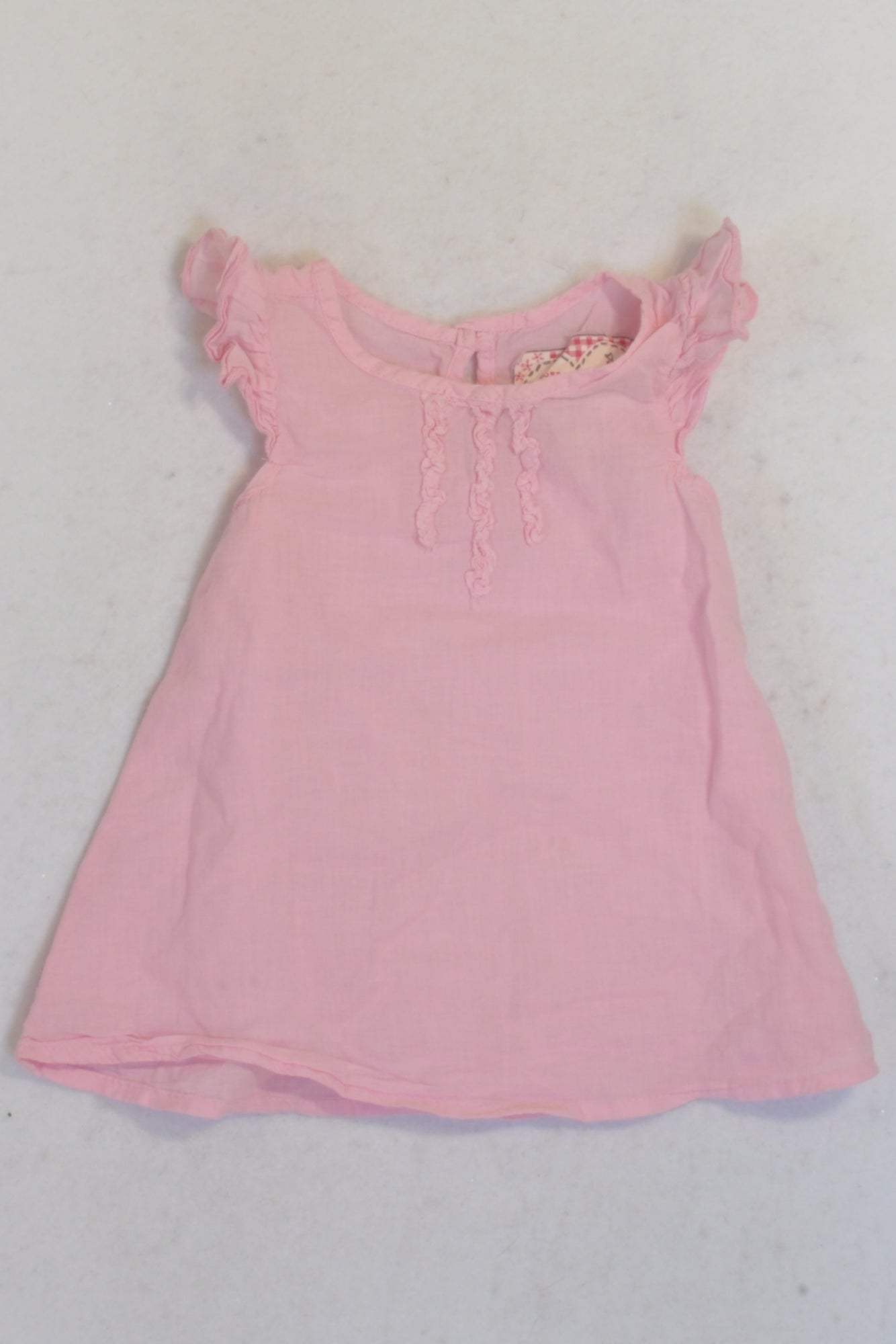 Fresh Produce Pink Cotton Tank Top Girls 3-6 months