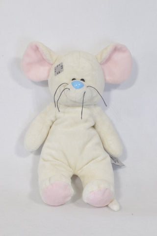 Tatty Teddy Cream Soft Mouse Toys  Unisex 6 months to 4 years