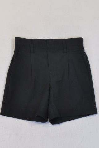 Woolworths Navy Pleat Shorts Boys 7-8 years