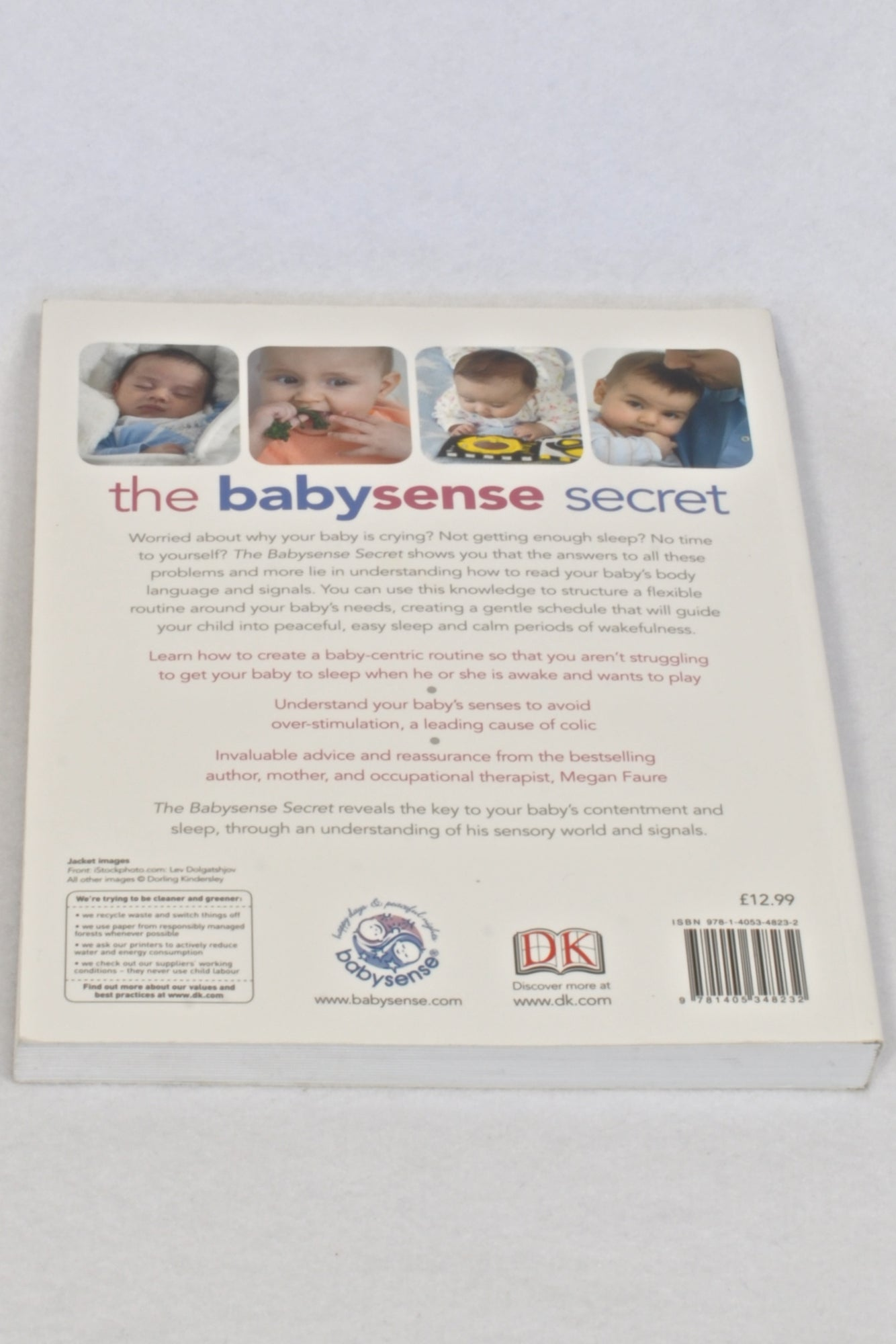 The Babysense Secret Parenting Book Unisex N-B to 1 year