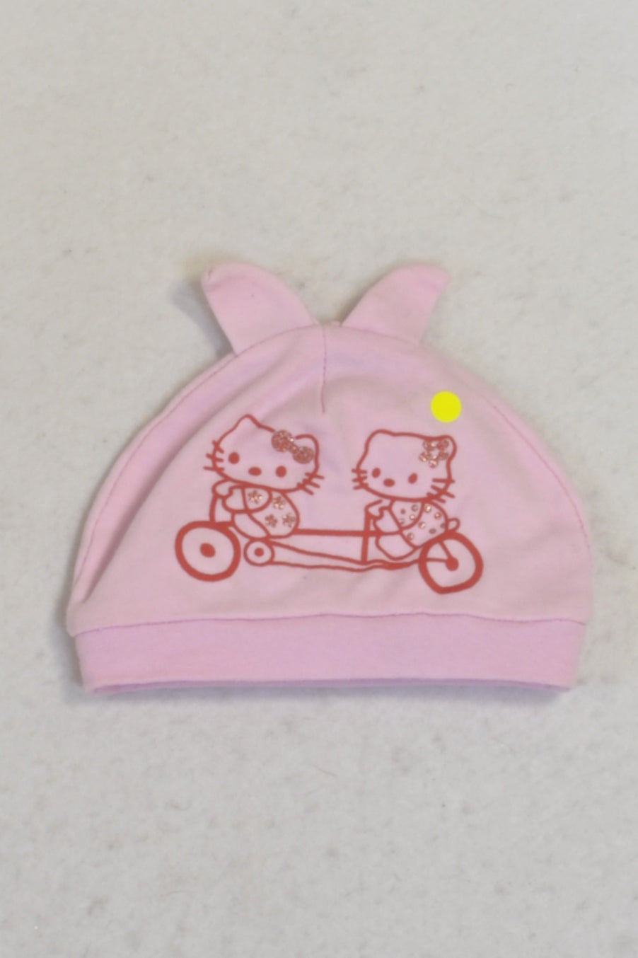 Pink Hello Kitty Beanie Girls 0-3 months