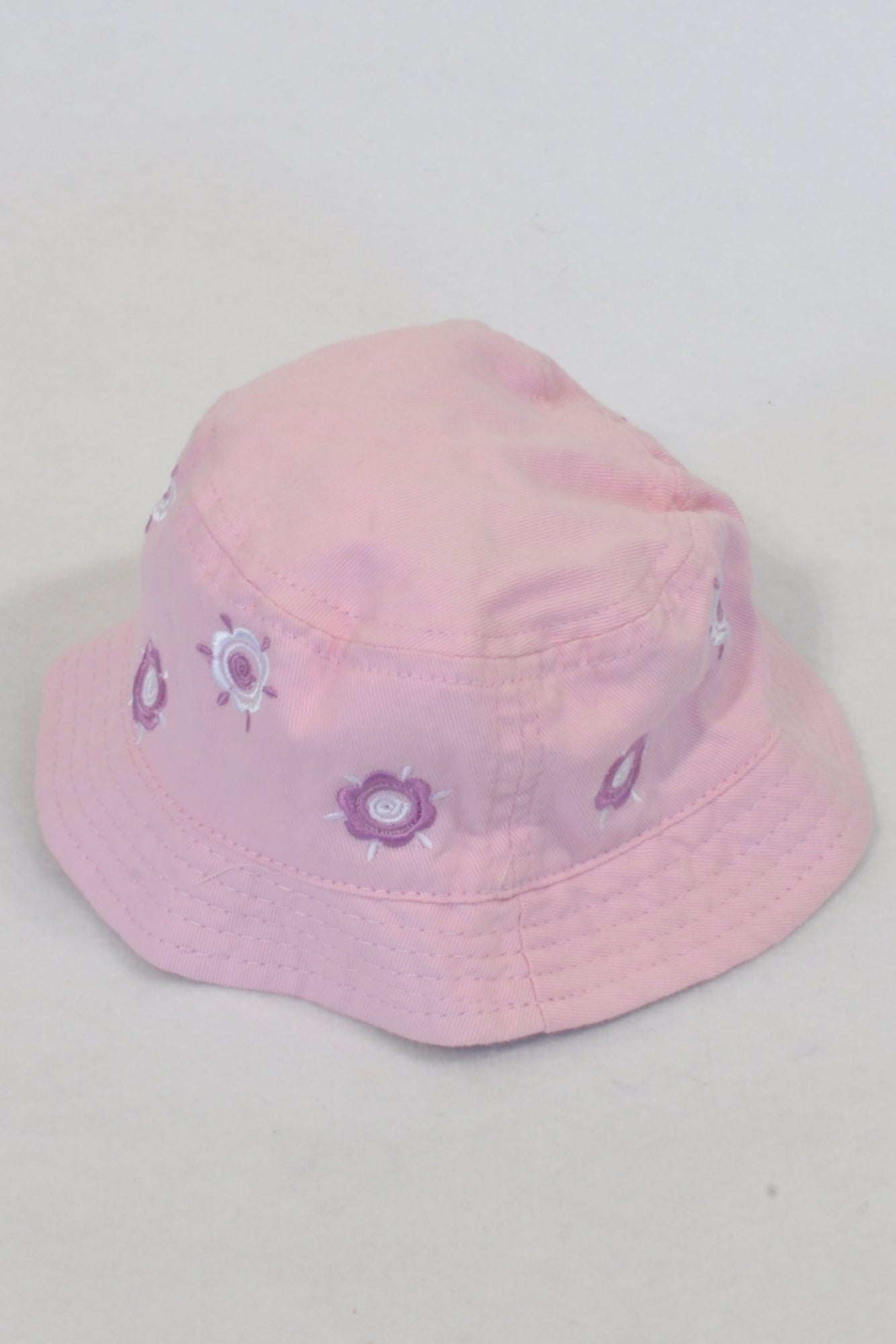 Baby Limited Pink Floral Sun Hat Girls 3-6 months