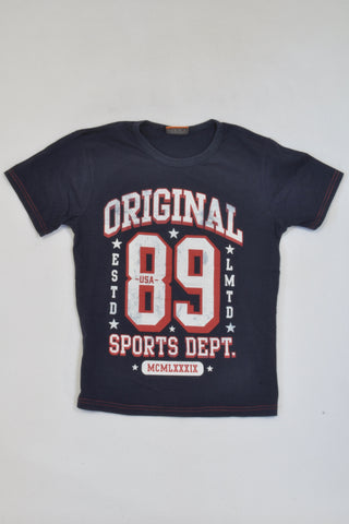 New JBR Navy Original 89 Sports T-shirt Boys 10-11 years