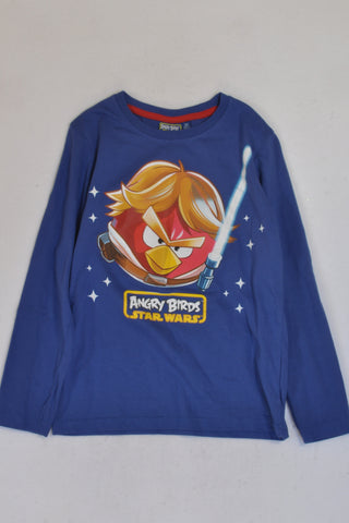 Angry Birds Star Wars Blue T-Shirt Boys 7-8 years