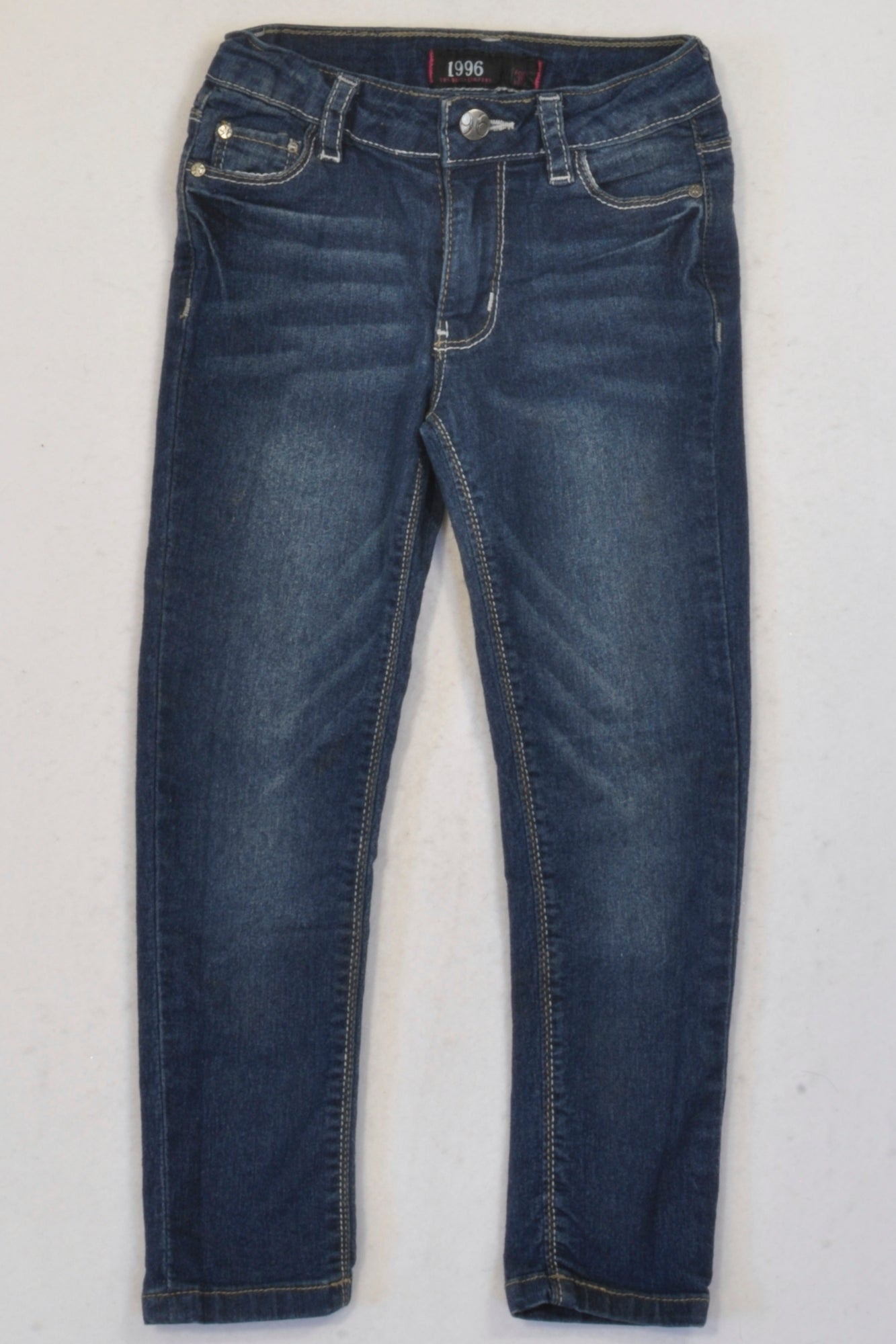 1996 Denim Skinny Stretch Jeans Girls 4-5 years