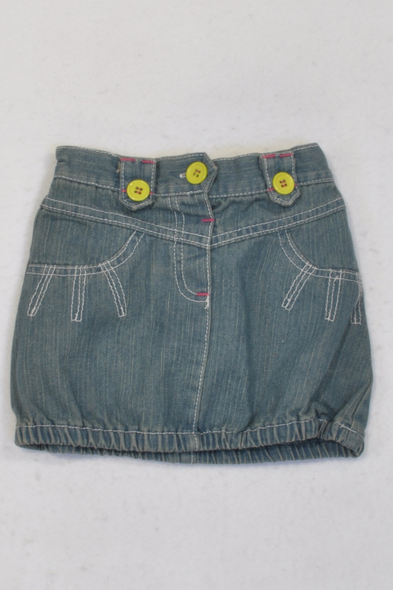 Ackermans Denim Bubble Skirt Girls 12-18 months