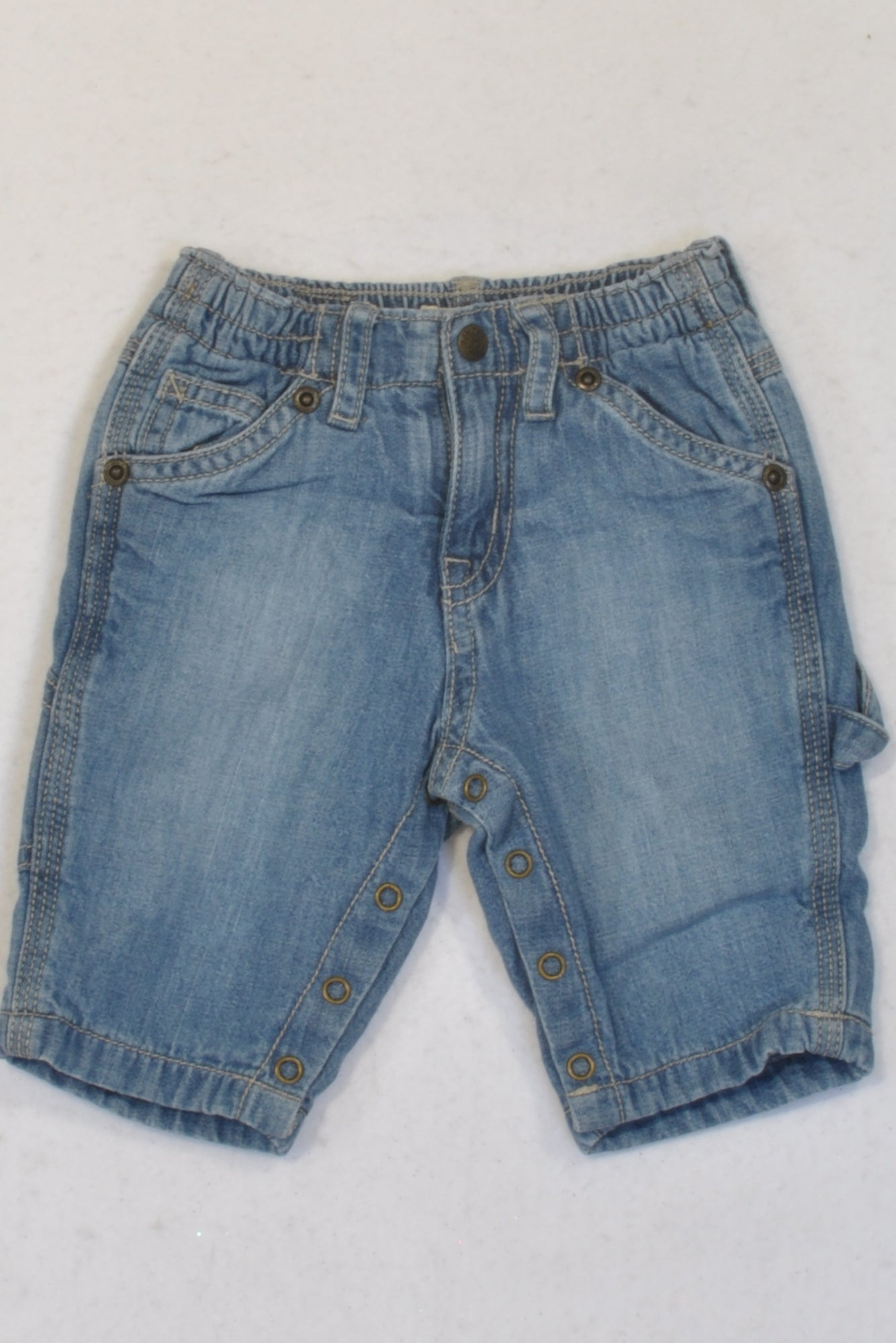 Pick 'n Pay Stone Washed Denim Pants Boys 0-3 months