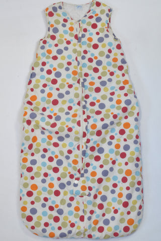The Gro Company Multi-colour Polka Dot Sleep Sack Unisex 18-24 months
