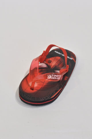 New Red Spider-Man  Flip Flops Boys 2-3 years