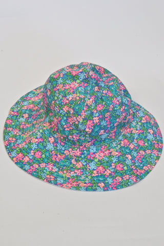 New Bright Colourful Flower  Hat Girls 1-2 years