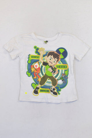Ben 10 Hero T-shirt Boys 5-6 years