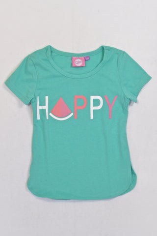 New Turquoise Happy Watermelon T-shirt Girls 12-18 months