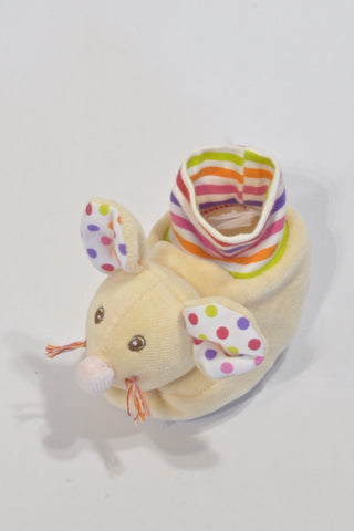 New Colourful Mice Slippers Unisex 3-6 months