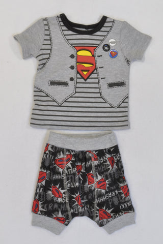 New Woolies Superbaby Outfit Boys 0-3 months