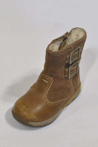 Timberland Brown Suede Boots Unisex 2-3 years