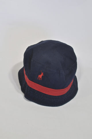 Polo Navy And Red Hat Boys 4-5 years