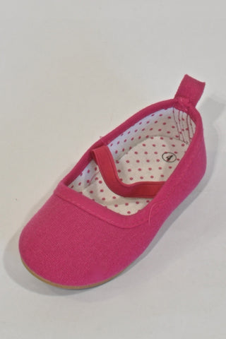 New Pink Ballet  Shoes Girls 12-18 months