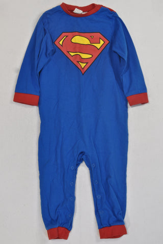 H&M Superman Onesie Boys 12-18 months