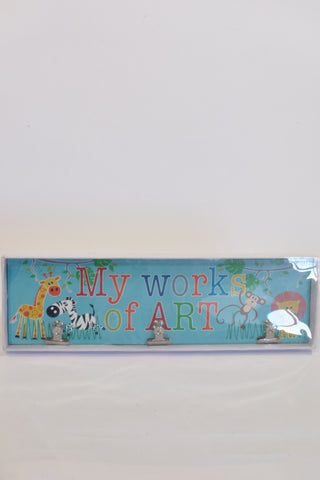 New My Works Of ART Decor Unisex 1-2 years