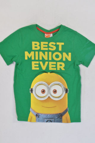 New Green Minion T-shirt Boys 5-6 years