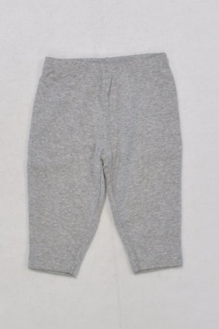Carters Grey Legging Girls 3-6 months