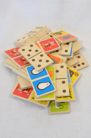Hape Wooden Animal Domino Game Unisex 5+ years
