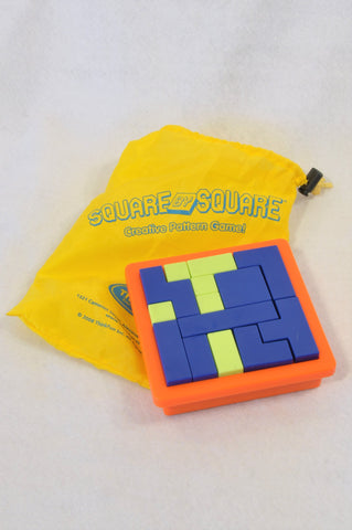 ThinkFun Square BY Square Creative Pattern Game Unisex 8+ years