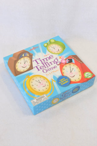 Eeboo Time Telling Game Unisex 5+ years