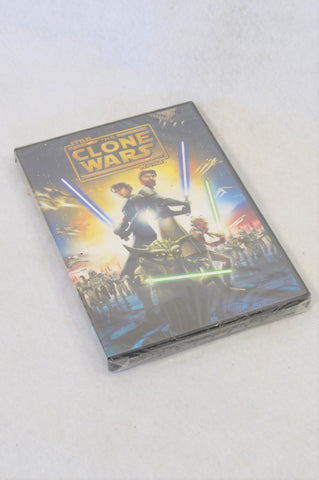 New Star Wars The Clone Wars Movie Kids DVD Unisex 8+ years