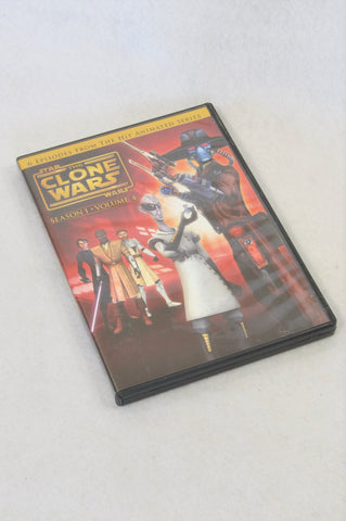 Star Wars The Clone Wars Season 1 Volume 4 Kids DVD Unisex 8+ years