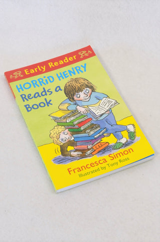 Unbranded Horrid Henry Reads a Book Early Reader Paperback Book Unisex 5+ years