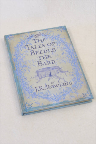 J.K. Rowling's The Tales of Beedle the Bard Hardcover Book Unisex 7-14 years