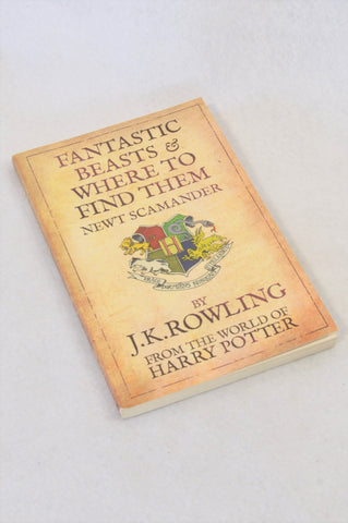 J.K. Rowling's Fantastic Beasts & Where to Find Them Paperback Book Unisex 7-14 years