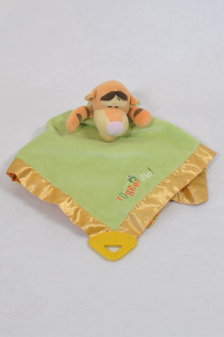 Disney Green Tigger Soother Unisex N-B to 2 years
