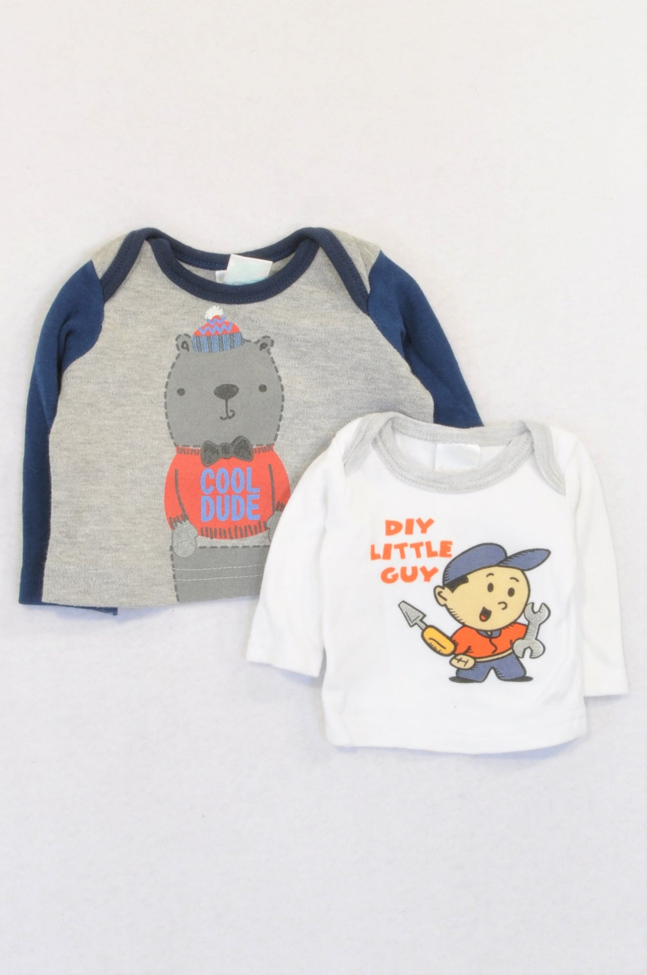 Pick 'n Pay 2 Pack DIY & Cool Dude Bear T-Shirts Boys N-B