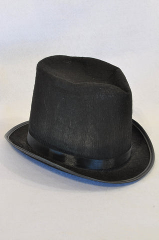 Unbranded Black Top Hat Dress up Unisex 5+ years
