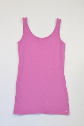 New The Now Purple Longer Length Tank Top Women Size 16