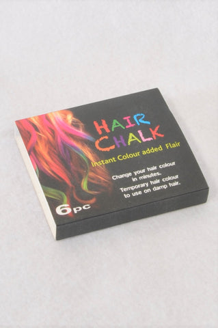 New Unbranded 6 Pcs Hair Chalk Kids Accessory Unisex 3+ years