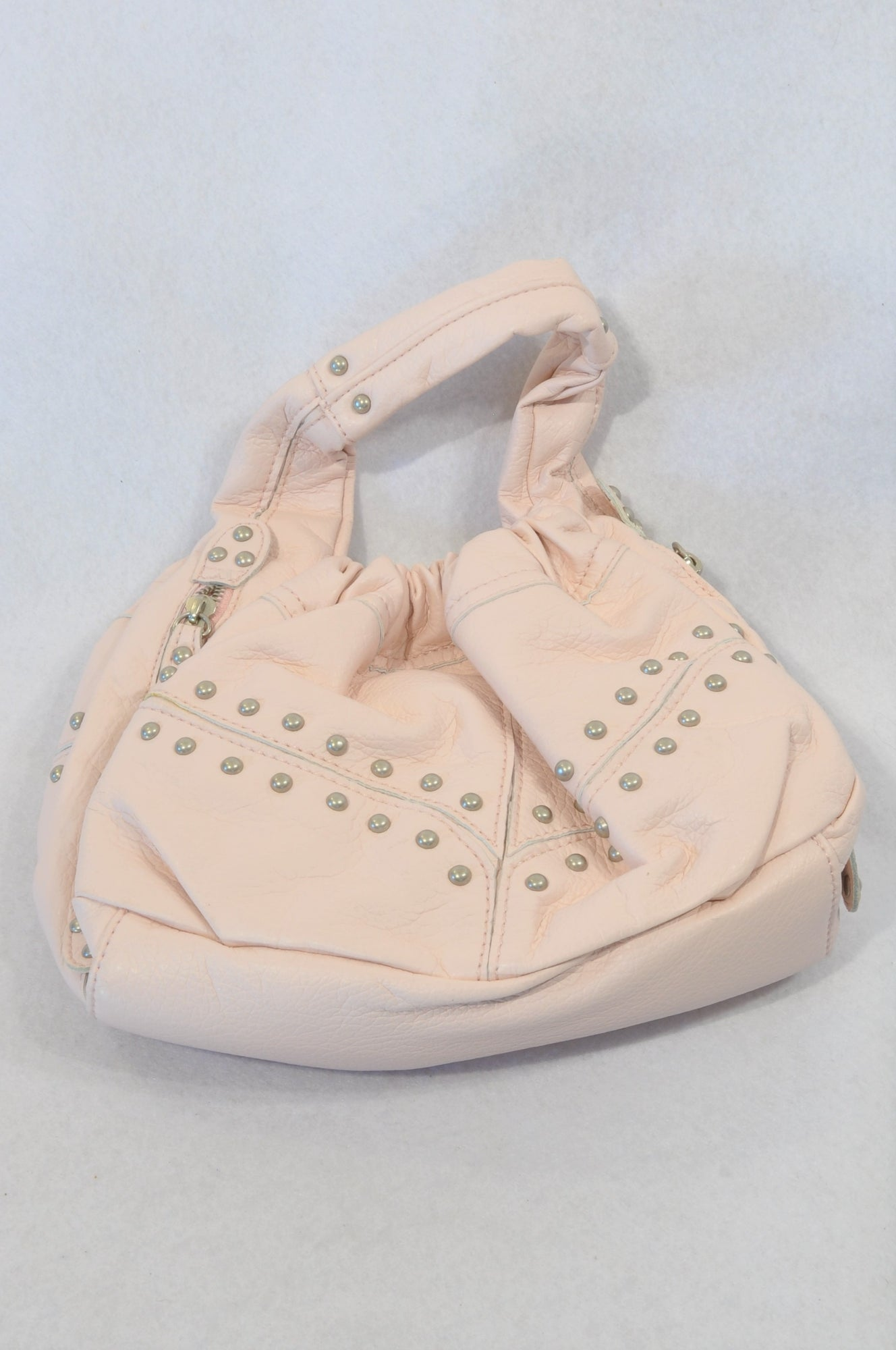 New Honey Light Pink Bejewelled Handbag Women