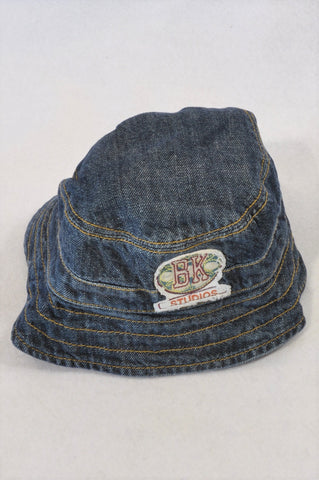 Naartjie Denim Stitch BK Studios Hat Boys 3-4 years