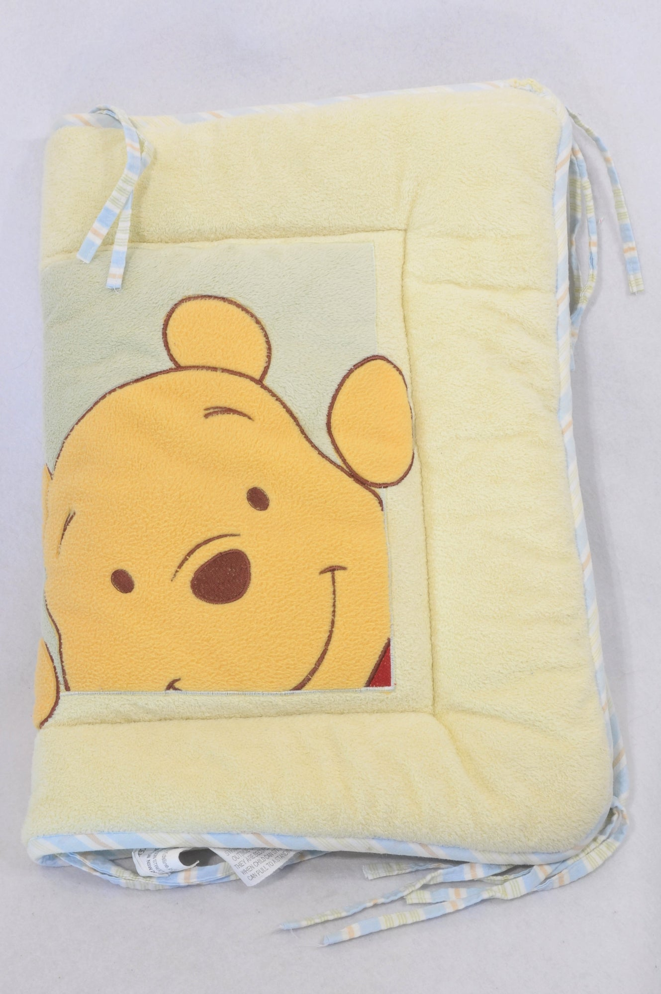 Unbranded Green & Yellow Winnie The Pooh Bedding Set Unisex N-B to 1 year